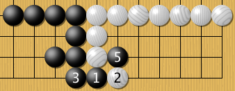 If white ignores after 3...
